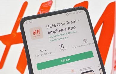 Ứng dụng H&M nhận bão 1 sao từ cộng đồng mạng